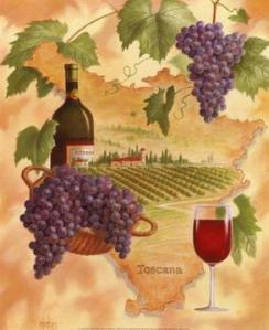 APG-00005~Toscana-Bella-Vino-Posters