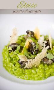Eloise risotto escargots 1