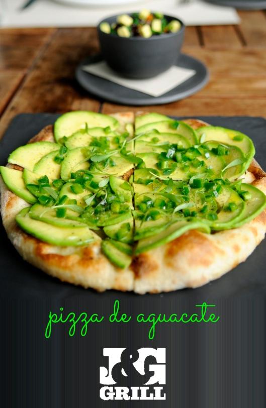Pizza de aguacate -1