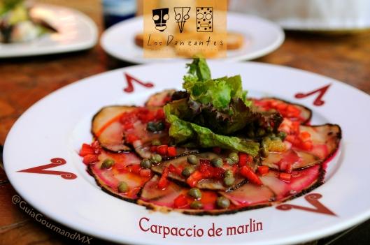Carpaccio de marlin Danzantes -5
