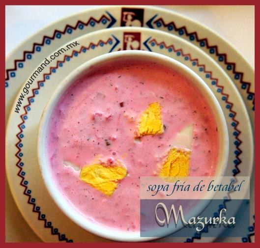 Mazurka sopa fría -2