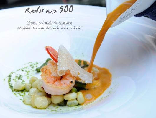 REFORMA 500 sopa pouring -4