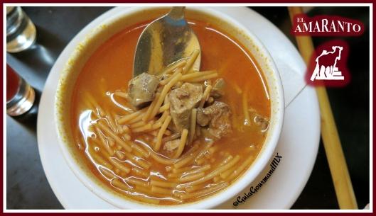 Sopa de fideo -1