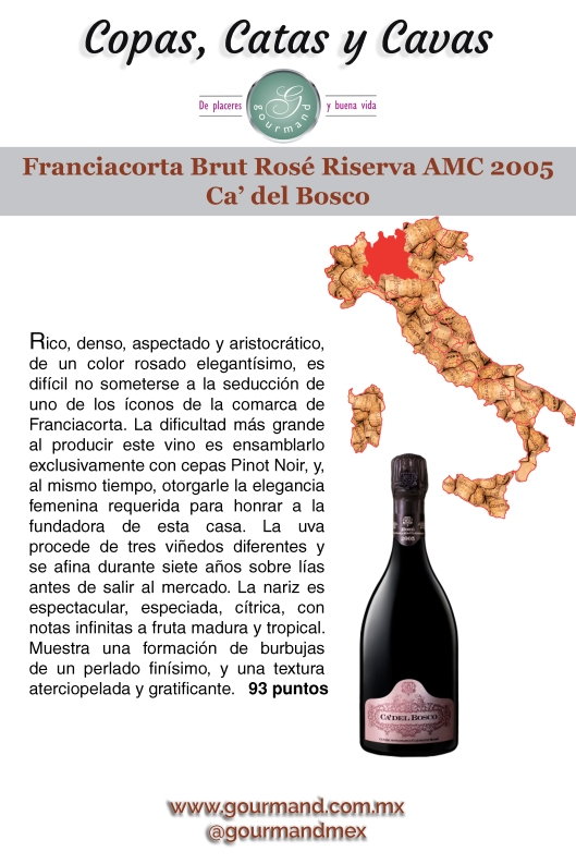 34º Franciacorta Brut Rose Riserva