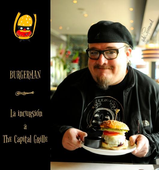 Burger man -1