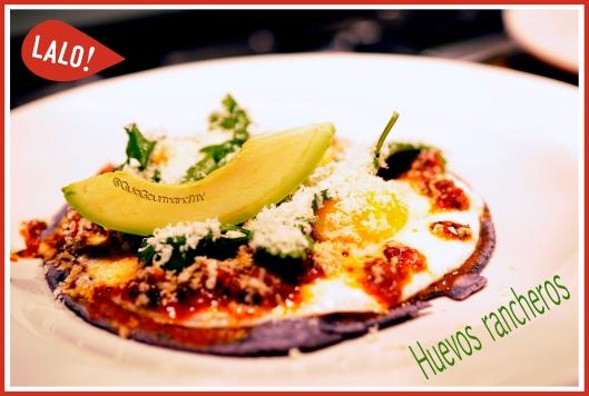 huevos rancheros con chorizo -6