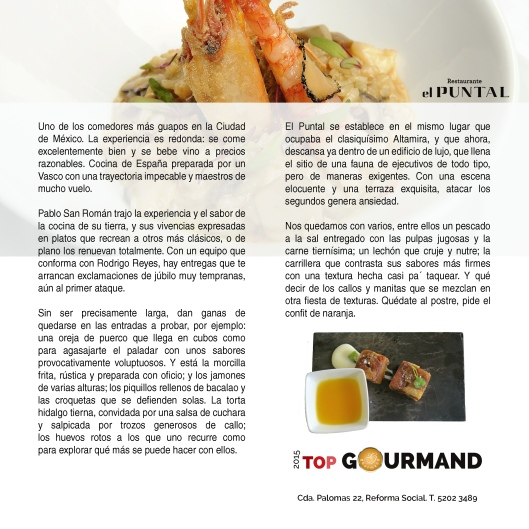 top gourmand el puntal