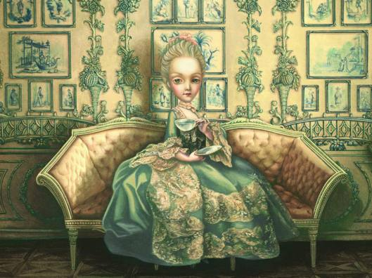 Benjamín Lacombe - Maria Antonieta, Diario secreto de una reina.jpg